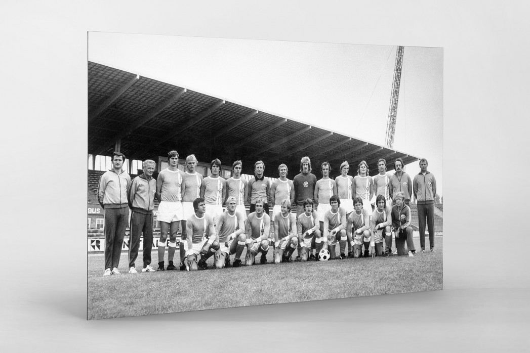Hansa 1975/76 als auf Alu-Dibond kaschierter Fotoabzug