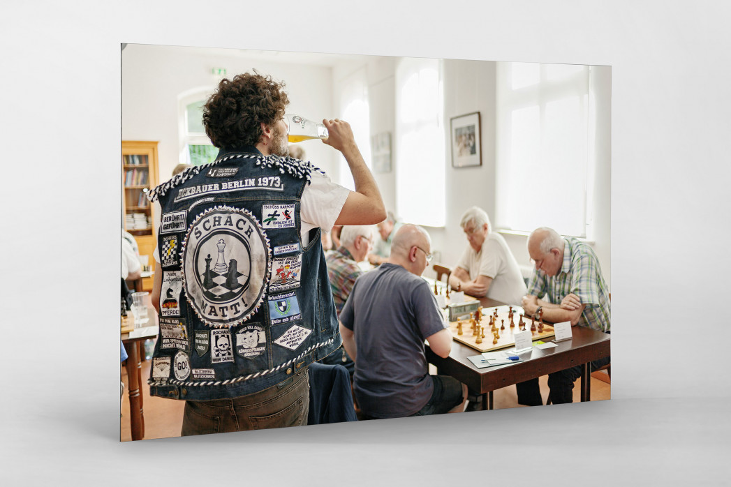 Kutte Schach als auf Alu-Dibond kaschierter Fotoabzug