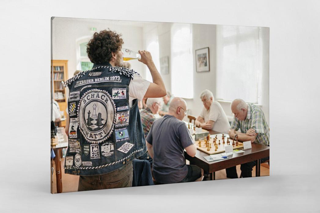 Kutte Schach als Leinwand auf Keilrahmen gezogen