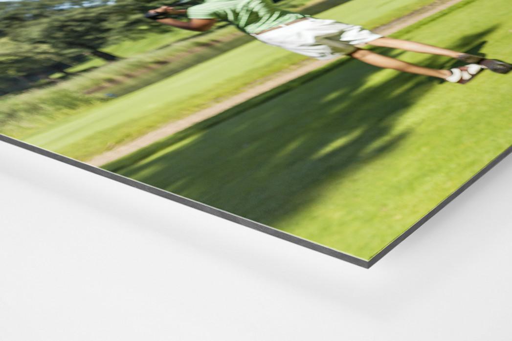 Kutte Golf als auf Alu-Dibond kaschierter Fotoabzug (Detail)