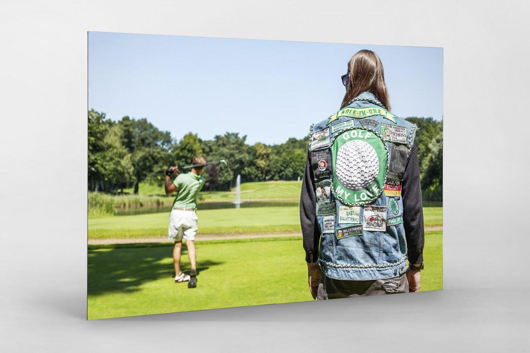 Kutte Golf als auf Alu-Dibond kaschierter Fotoabzug