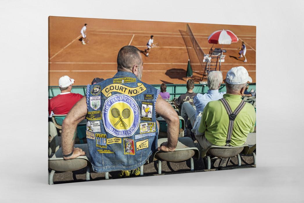 Kutte Tennis als Leinwand auf Keilrahmen gezogen