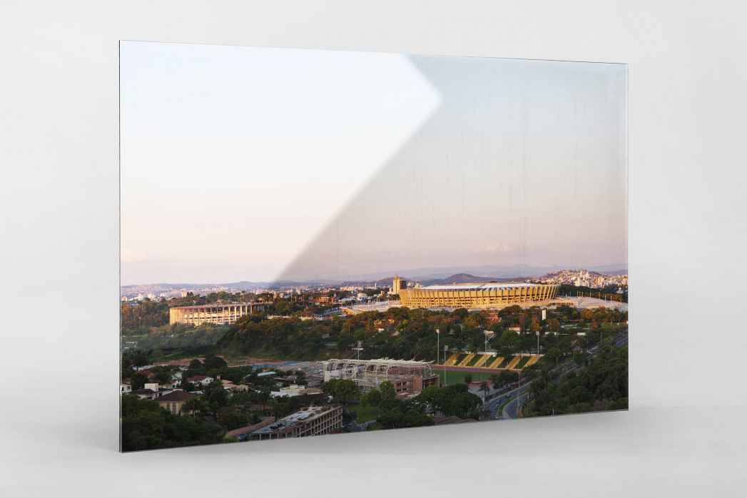 Estádio Mineirão (2) als Direktdruck auf Alu-Dibond hinter Acrylglas