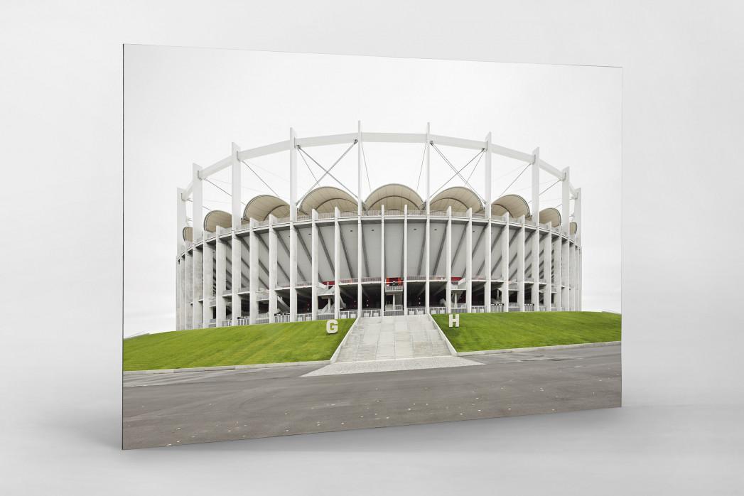 Nationalarena Bukarest als auf Alu-Dibond kaschierter Fotoabzug