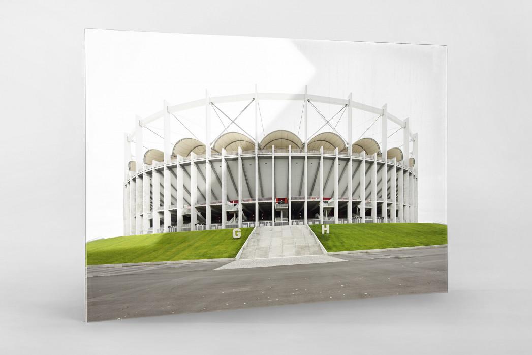 Nationalarena Bukarest als Direktdruck auf Alu-Dibond hinter Acrylglas