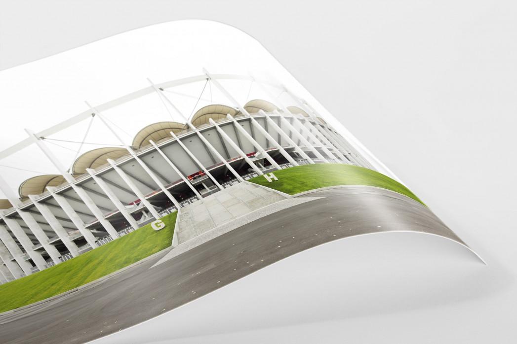 Nationalarena Bukarest als FineArt-Print
