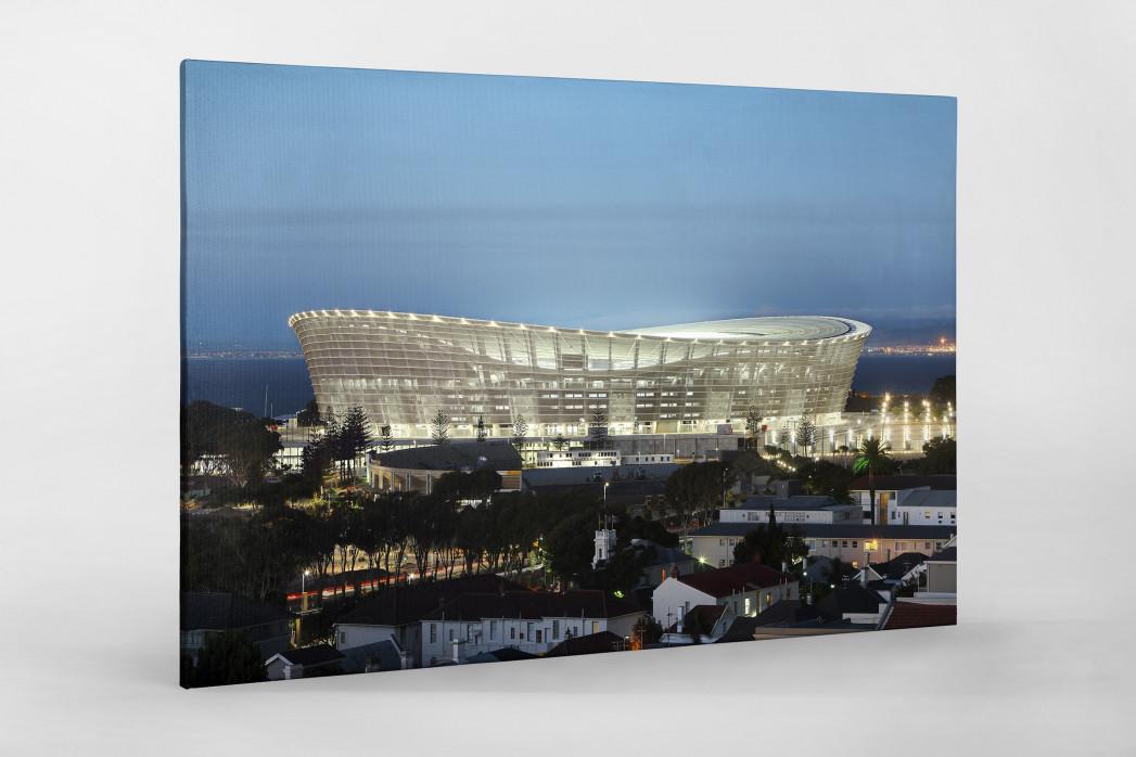 Cape Town Stadium erleuchtet als Leinwand auf Keilrahmen gezogen