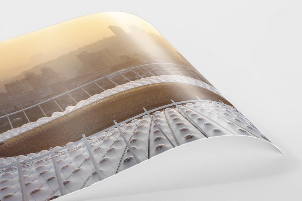 Dach vom Olympiastadion Kiew als FineArt-Print