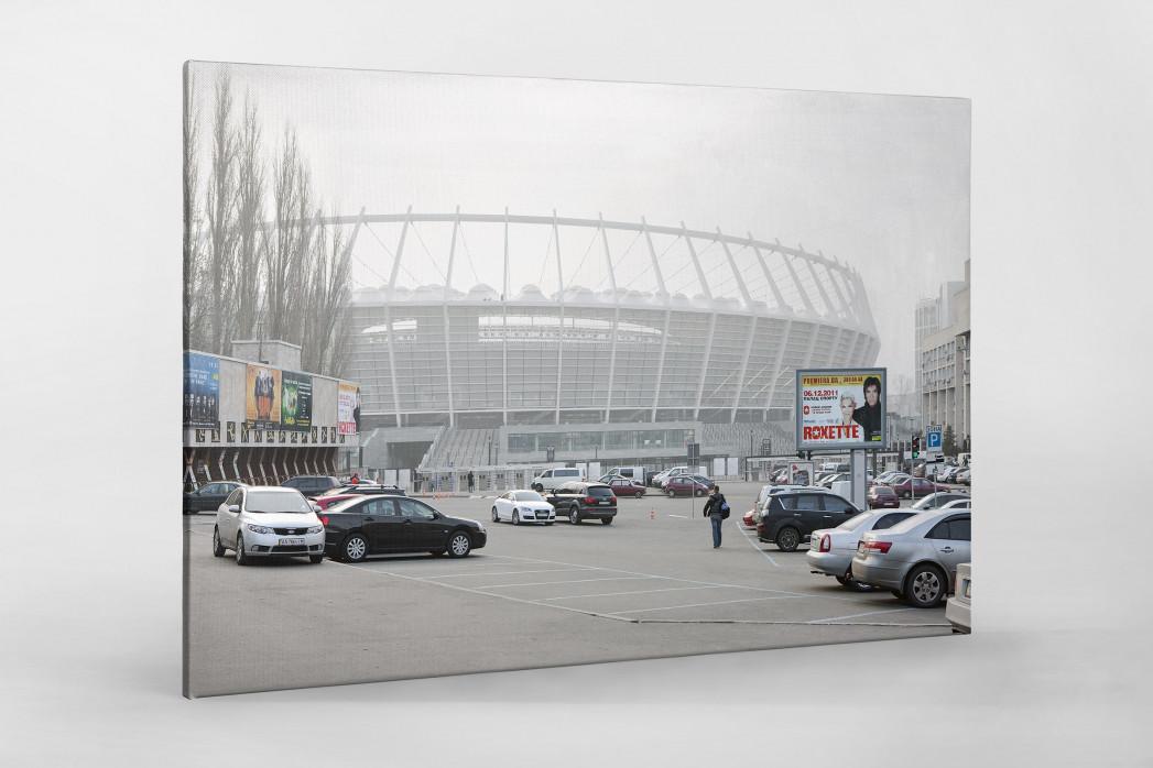 Roxette in Kiew als Leinwand auf Keilrahmen gezogen