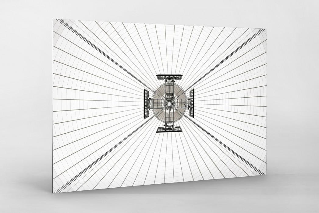 Dachkonstruktion im Nationalstadion Warschau als auf Alu-Dibond kaschierter Fotoabzug