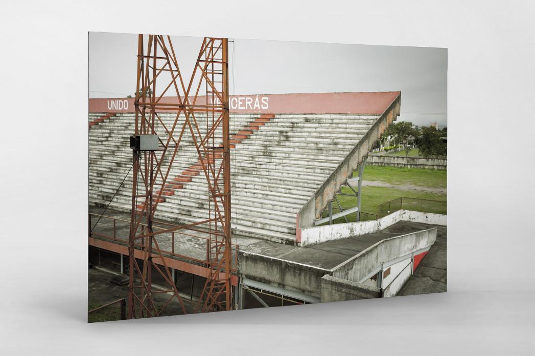 Tribüne im Stadion Giulite Coutinho als auf Alu-Dibond kaschierter Fotoabzug