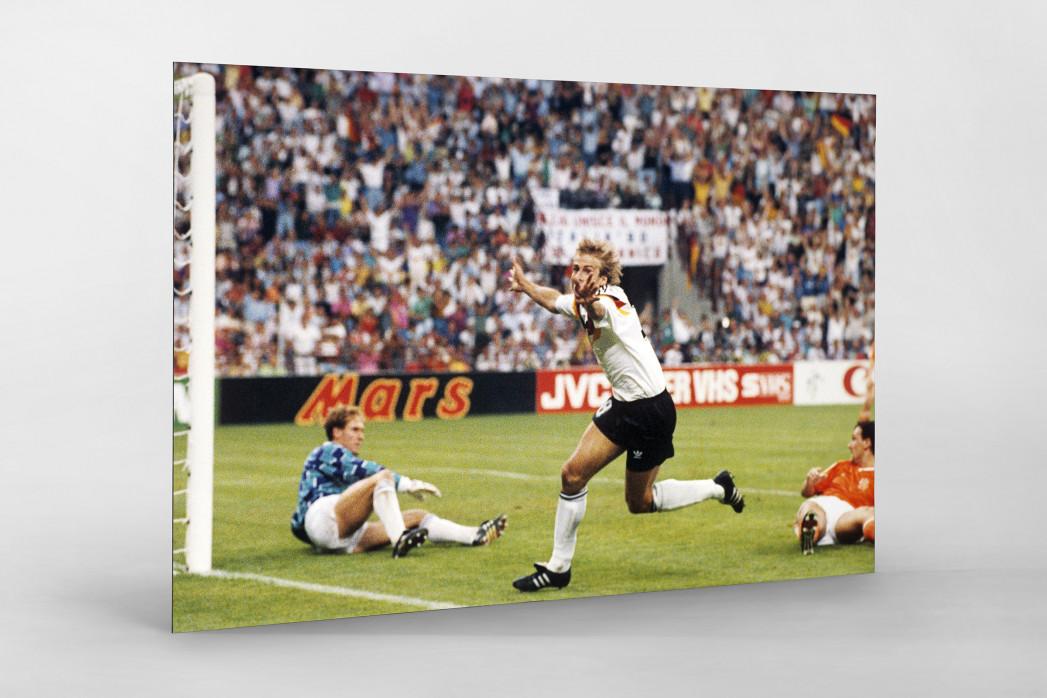 Klinsmann gegen Holland (1) als auf Alu-Dibond kaschierter Fotoabzug