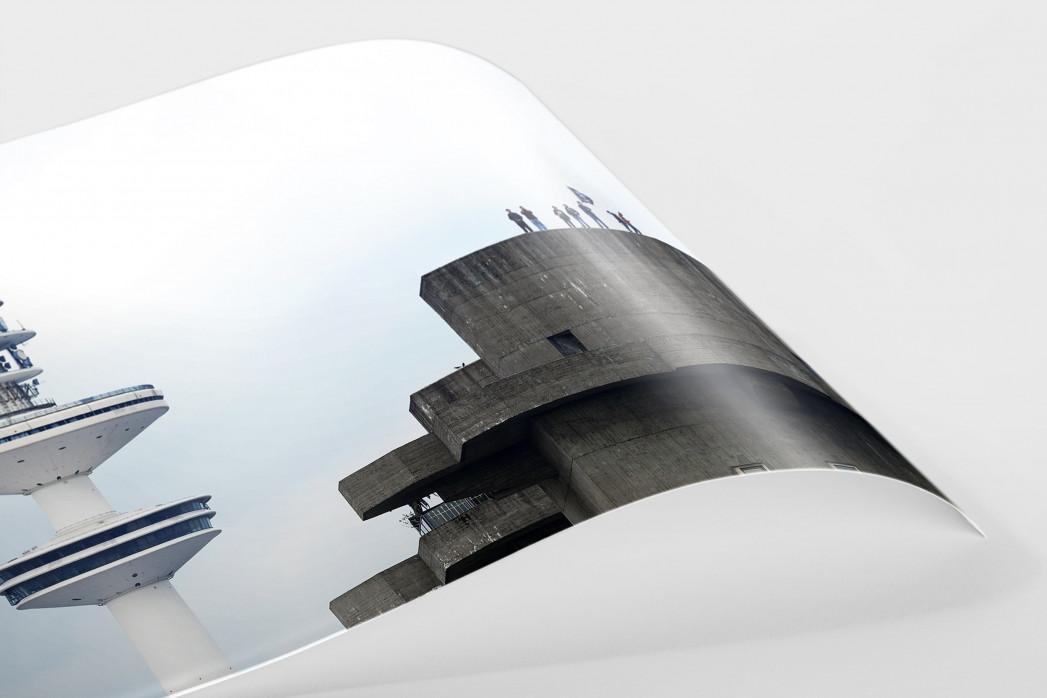 St. Pauli Bunker als FineArt-Print