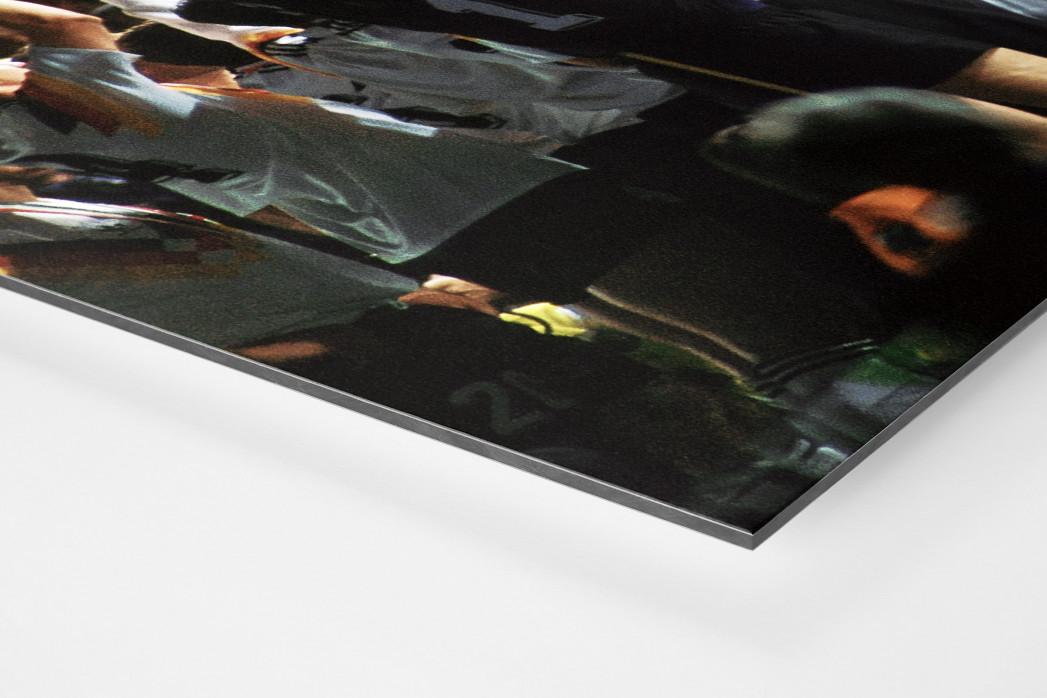 WM-Jubel (2) als auf Alu-Dibond kaschierter Fotoabzug (Detail)