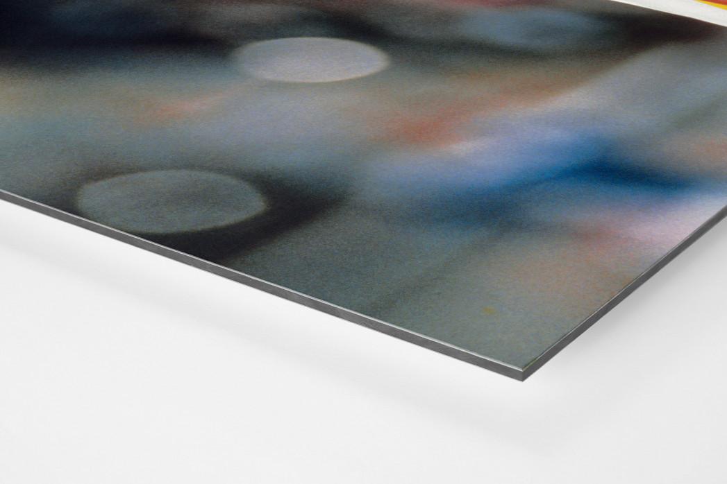 Lothar und Klinsi als auf Alu-Dibond kaschierter Fotoabzug (Detail)