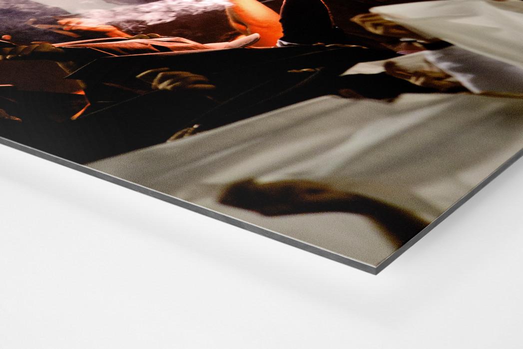 Pyro And Flares als auf Alu-Dibond kaschierter Fotoabzug (Detail)