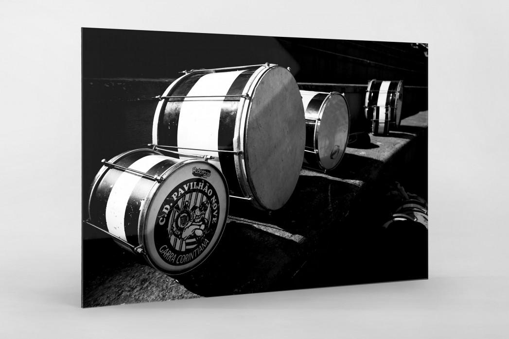 Drums als Direktdruck auf Alu-Dibond hinter Acrylglas