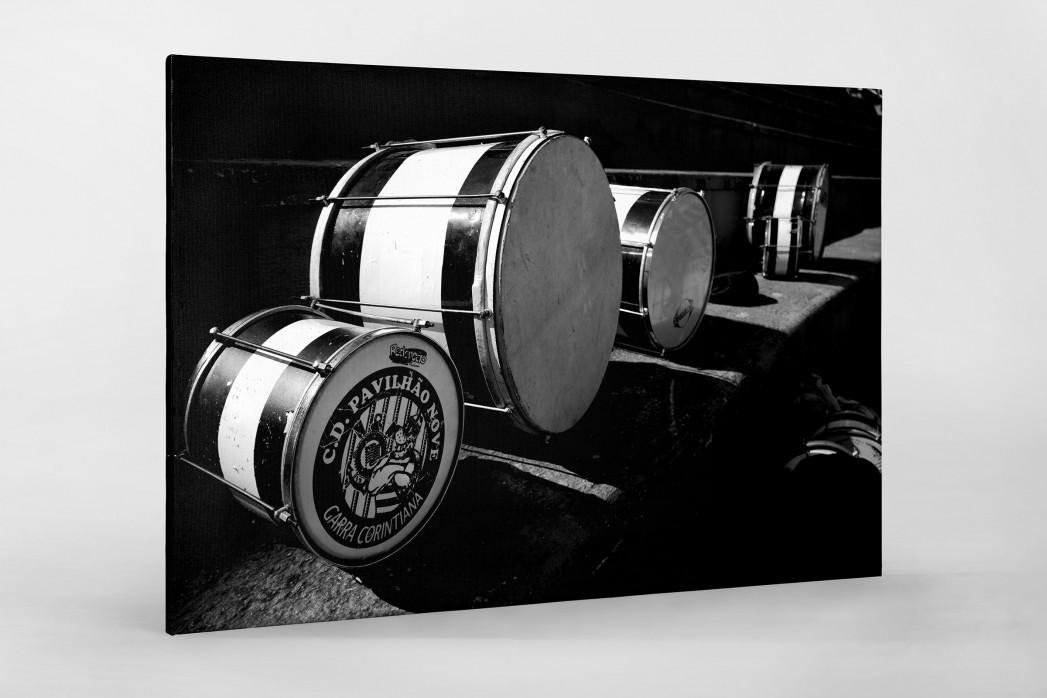 Drums als Leinwand auf Keilrahmen gezogen