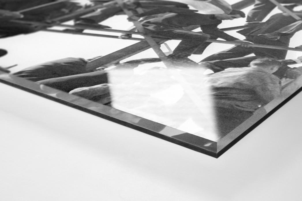 Kaiserslautern Fans als Direktdruck auf Alu-Dibond hinter Acrylglas (Detail)