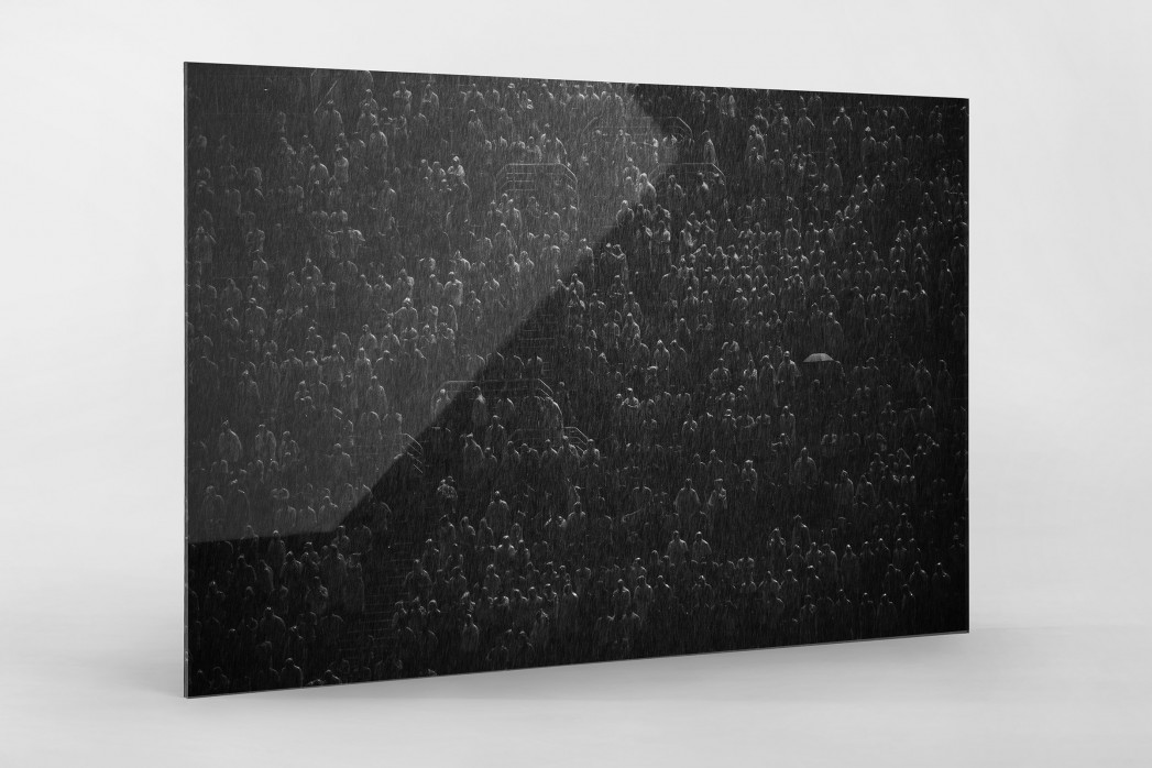 Rain And No Lights als Direktdruck auf Alu-Dibond hinter Acrylglas