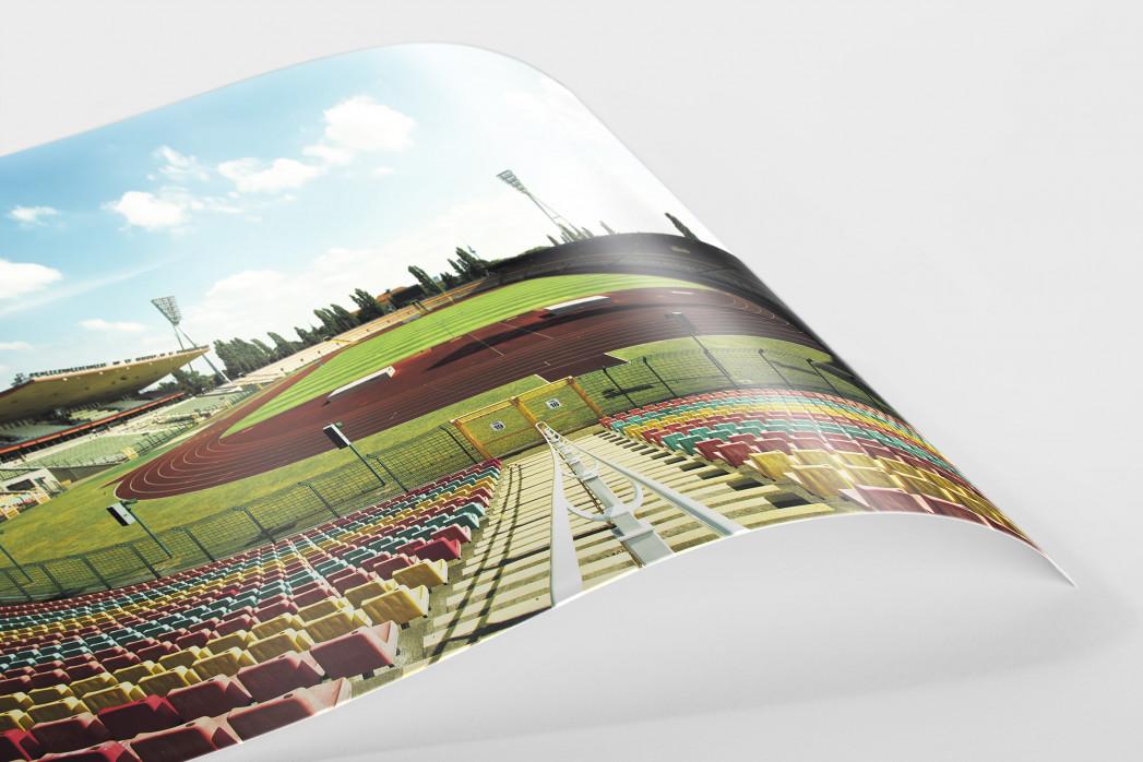 Blick in den Jahn-Sportpark als FineArt-Print
