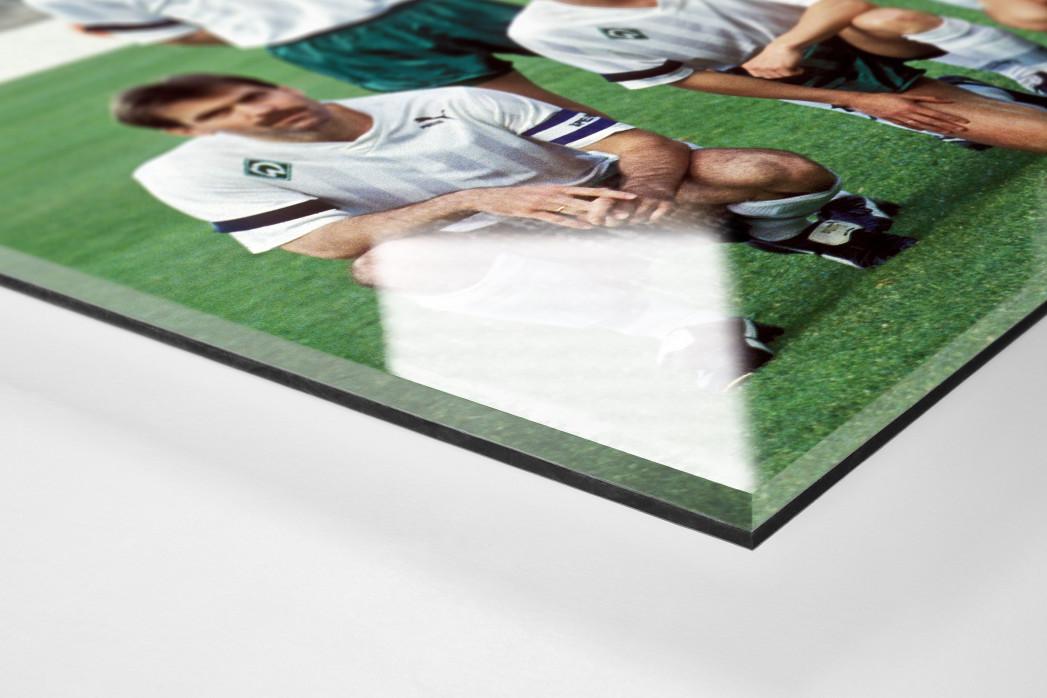 Bremen im Europapokalfinale als Direktdruck auf Alu-Dibond hinter Acrylglas (Detail)