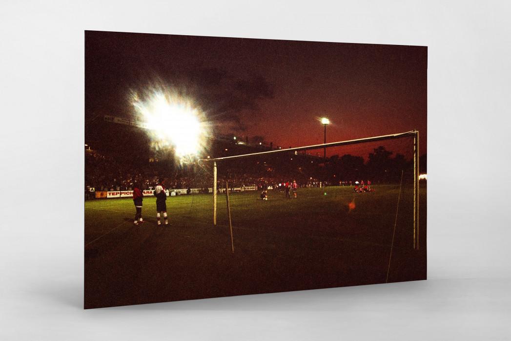 Cottbus Relegation 1997 als auf Alu-Dibond kaschierter Fotoabzug