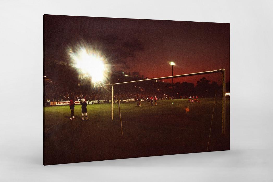 Cottbus Relegation 1997 als Leinwand auf Keilrahmen gezogen