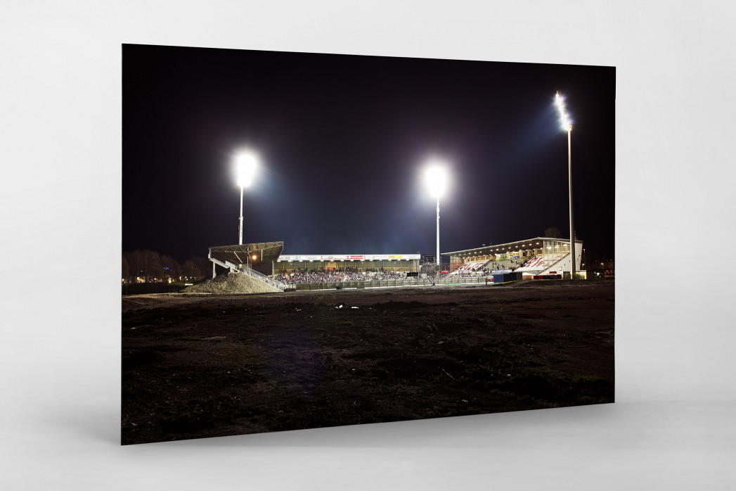 Georg-Melches-Stadion als auf Alu-Dibond kaschierter Fotoabzug
