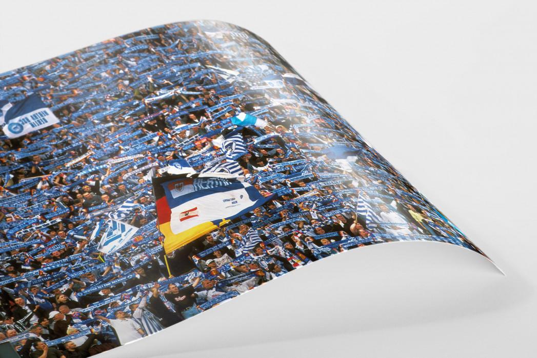 Hertha Fans 1997 als FineArt-Print