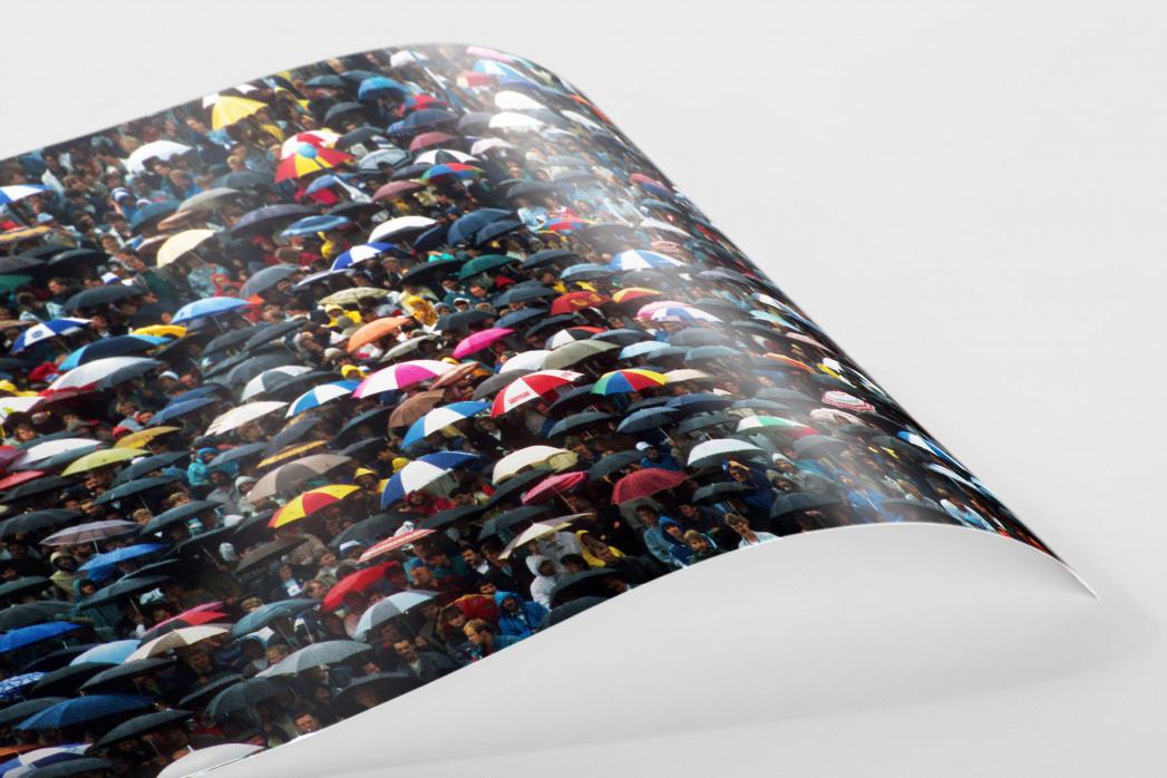 Regenschirme am Böllenfalltor als FineArt-Print