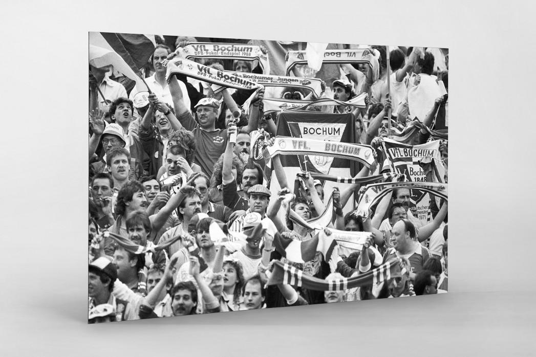 Bochum Fans 1988 als auf Alu-Dibond kaschierter Fotoabzug