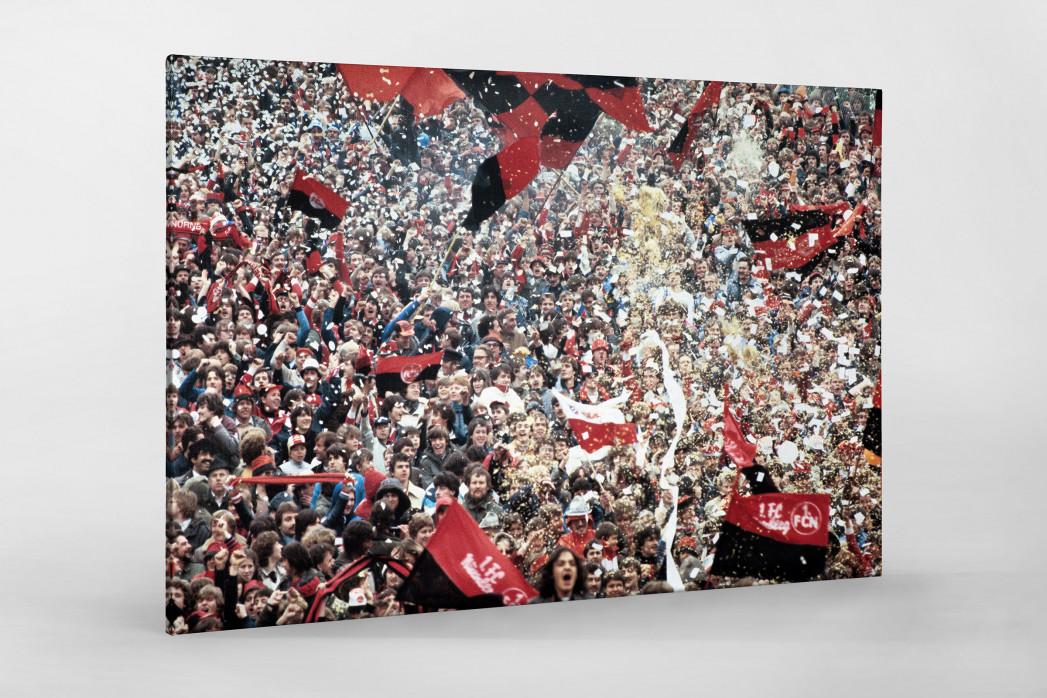 Club Fans 1982 (2)  als Leinwand auf Keilrahmen gezogen