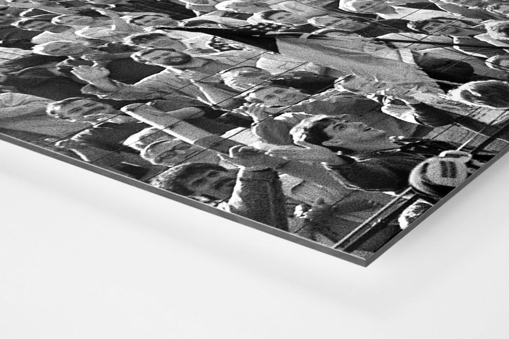 Dresdens Meister 1990 als auf Alu-Dibond kaschierter Fotoabzug (Detail)