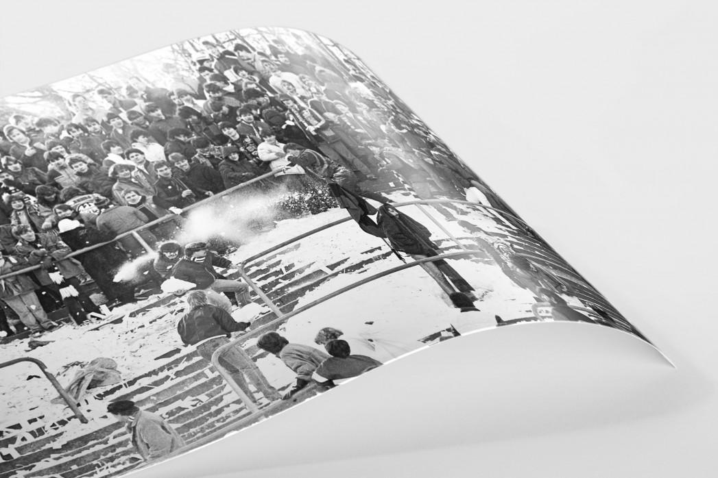 Frankfurter Schneeballschlacht als FineArt-Print