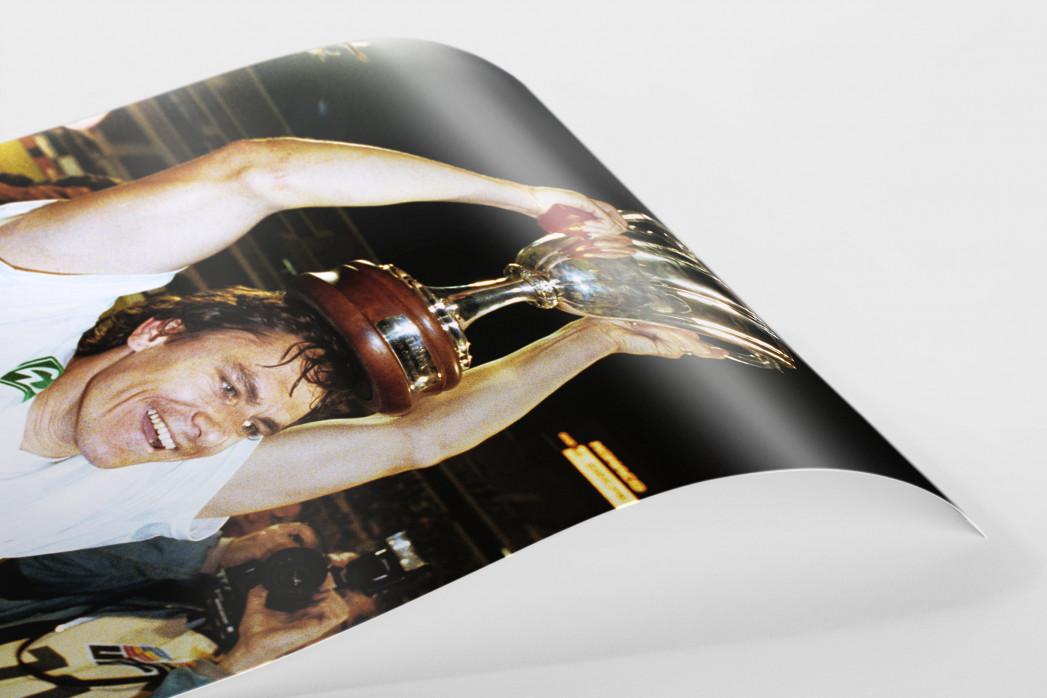 Kiwi und der Pokal als FineArt-Print