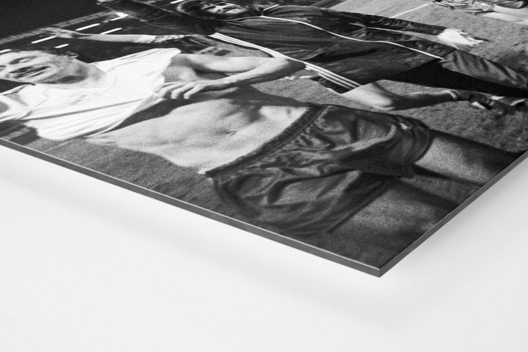 Kaiserslautern schlägt Real als auf Alu-Dibond kaschierter Fotoabzug (Detail)