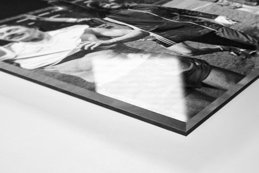 Kaiserslautern schlägt Real als Direktdruck auf Alu-Dibond hinter Acrylglas (Detail)
