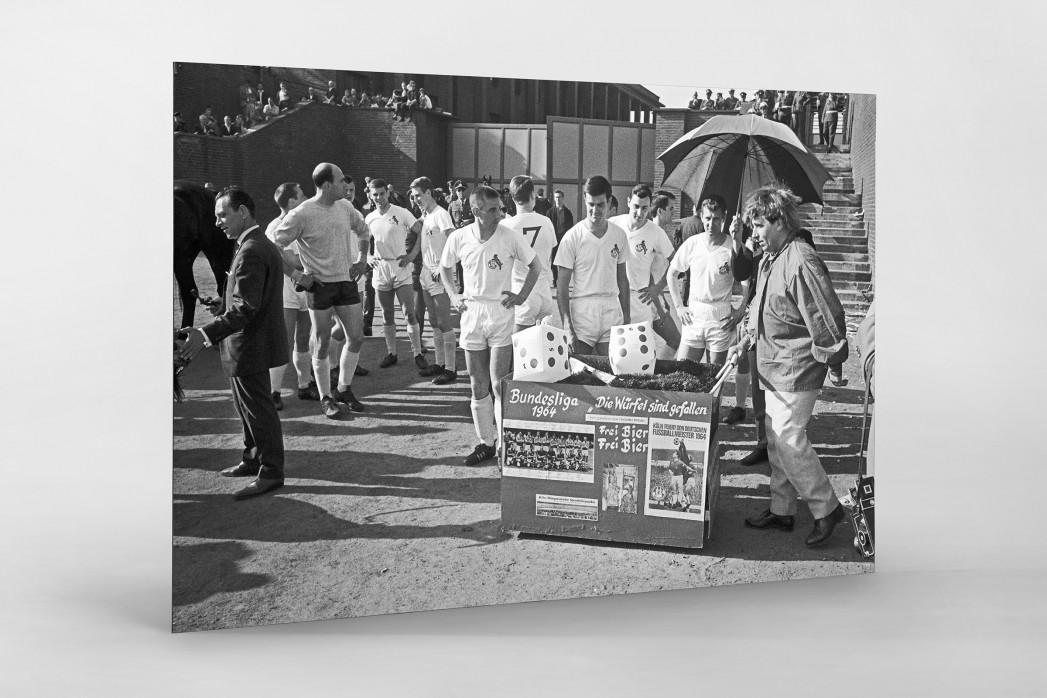 Kölner Meister 1964 als auf Alu-Dibond kaschierter Fotoabzug
