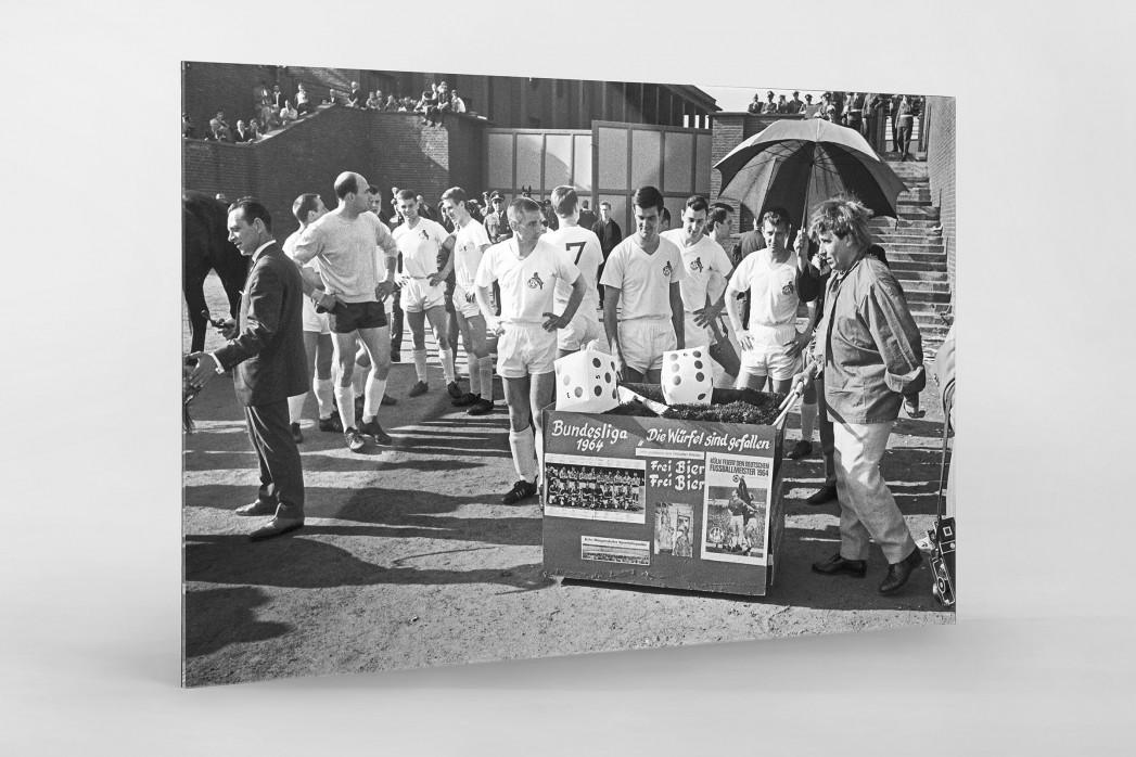 Kölner Meister 1964 als Direktdruck auf Alu-Dibond hinter Acrylglas