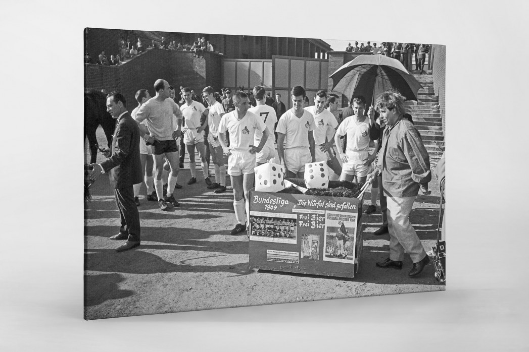 Kölner Meister 1964 als Leinwand auf Keilrahmen gezogen