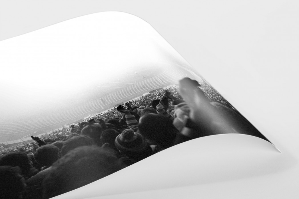 Nebel im Olympiastadion als FineArt-Print