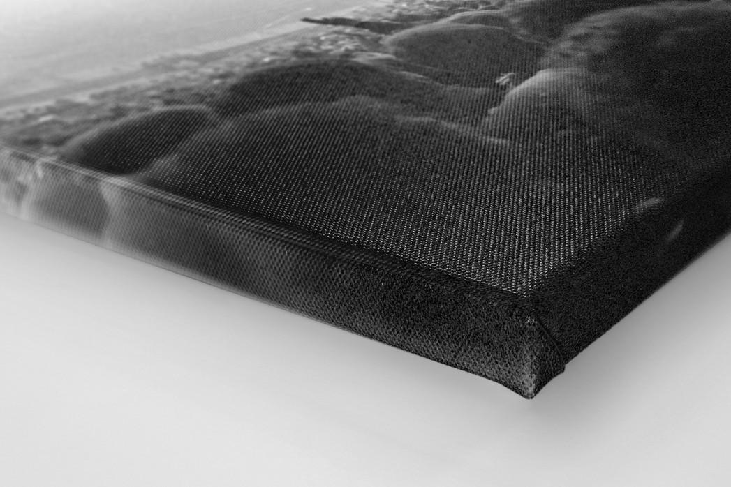 Nebel im Olympiastadion als Leinwand auf Keilrahmen gezogen (Detail)