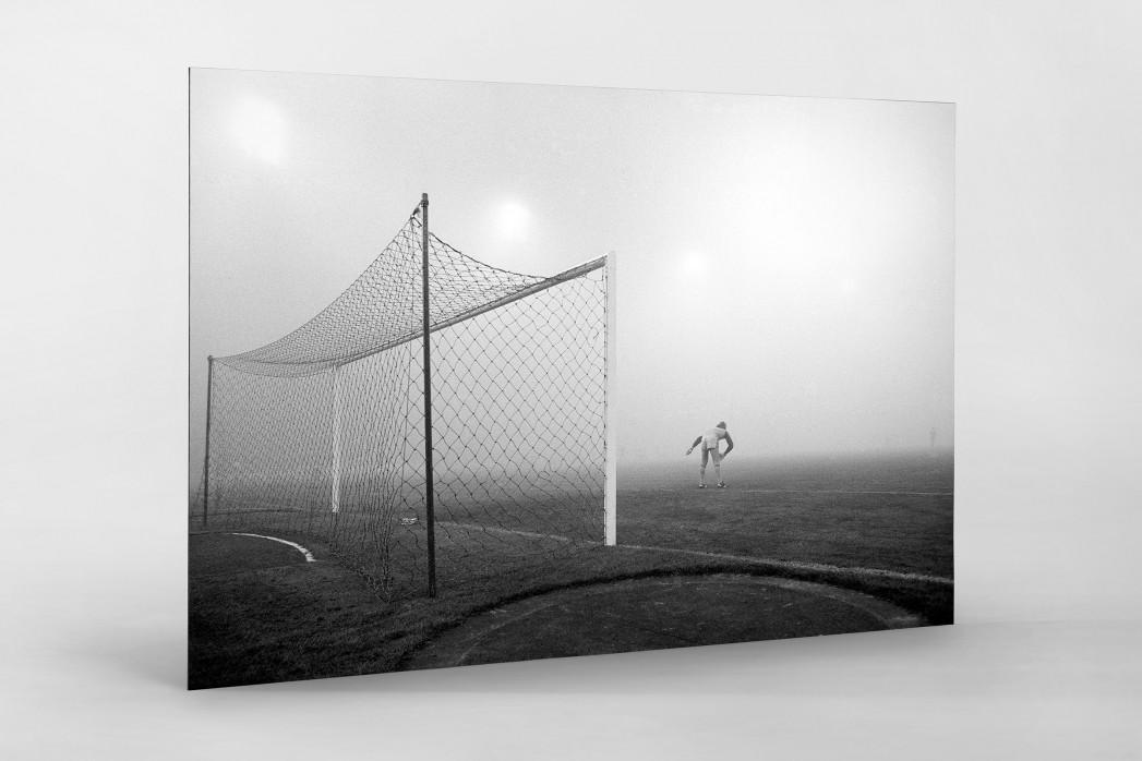 Pfaff im Nebel als auf Alu-Dibond kaschierter Fotoabzug