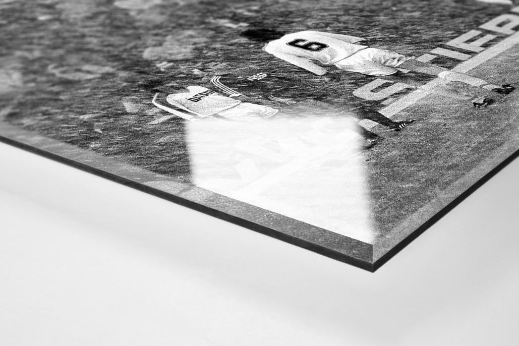 Schneesturm als Direktdruck auf Alu-Dibond hinter Acrylglas (Detail)