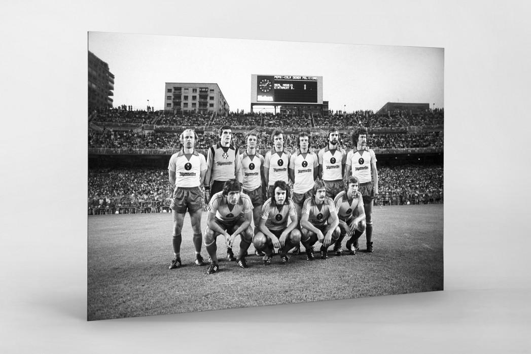 Braunschweig im Bernabéu als auf Alu-Dibond kaschierter Fotoabzug