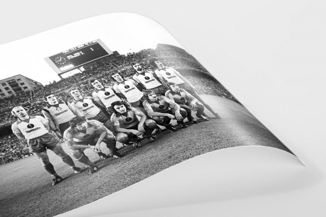 Braunschweig im Bernabéu als FineArt-Print