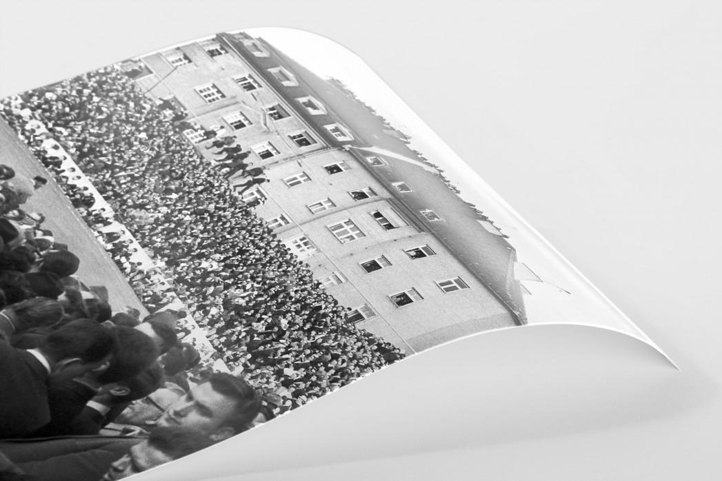 Zuschauer auf dem Dach als FineArt-Print