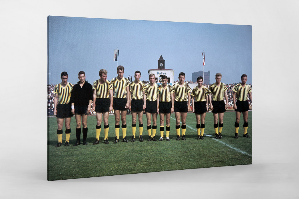 Aachen 1962 als Leinwand auf Keilrahmen gezogen