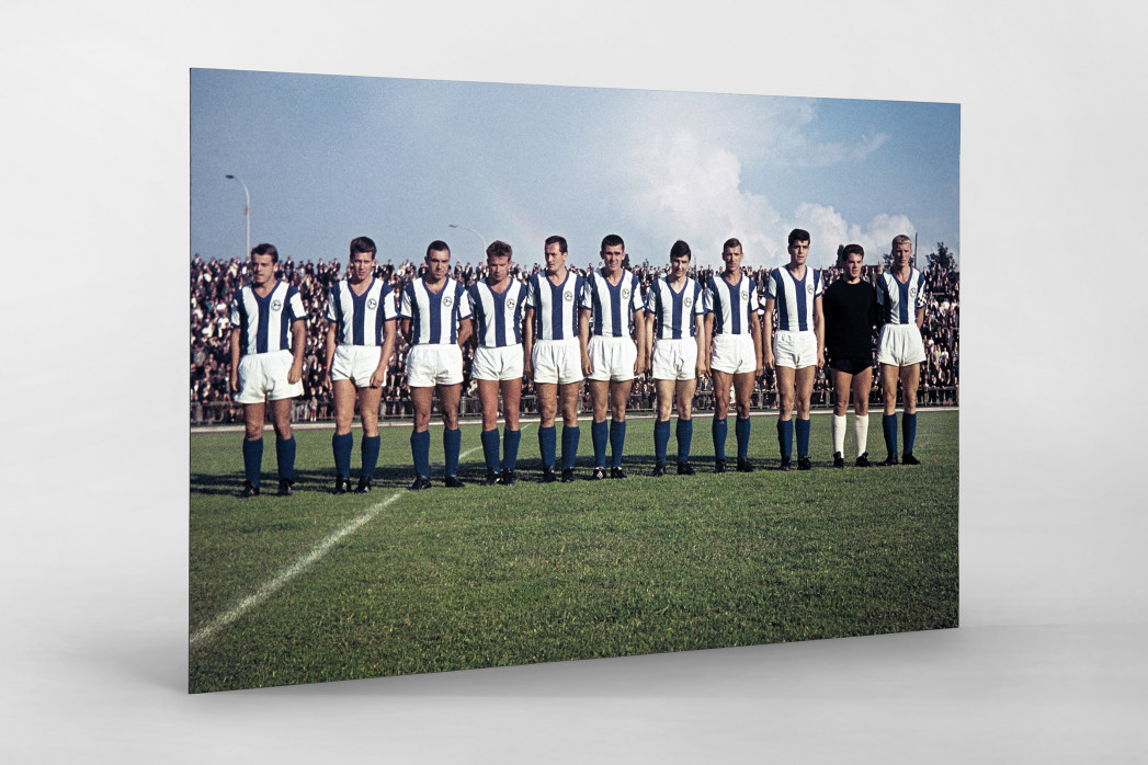 Bielefeld 1964 als auf Alu-Dibond kaschierter Fotoabzug
